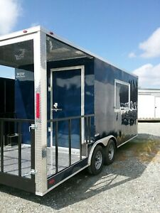 8 5x20 Bbq Concession Food Truck Trailer