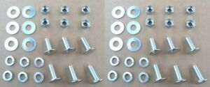12 High Quality St Stl Bumper Bolts Nuts 1950 70 S Gm Buick Cadillac Chevy Olds