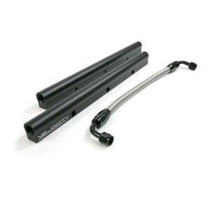 Tsp 81011bk Velocity Ls7 Billet Aluminum With Mid Pipe Fuel Rail Kit Black