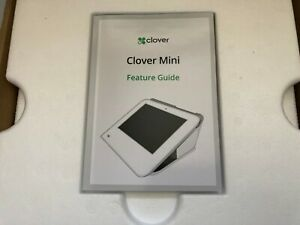 Clover Mini C301 3g Credit Card Processing Terminal Counter Compact Pos