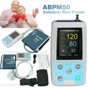 24hour Ambulatory Blood Pressure Monitor Automatic Nibp Holter pc Software usa