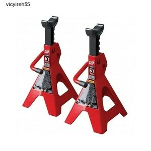 Mini Jack Stand Set 2 Pack By Torin 3 Tons Axle Floor Truck Lift Adjustable Car