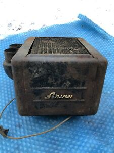 Vtg Ford Heater Box 1930s Chevy Dash Rat Rod Controls Art Deco Buick Arvin