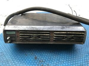 Vtg Ford Heater Box 1930s Chevy Dash Rat Rod Controls Art Deco Wards Riverside