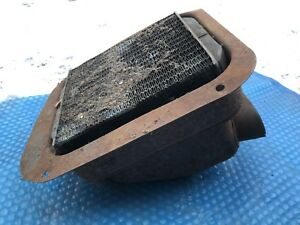 Vtg Ford Heater Box 1930s Chevy Dash Rat Rod Core Art Deco Buick Original