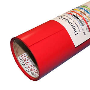Thermoflex Plus 15 X 15 Roll Red Heat Transfer Vinyl