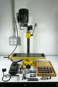 Emco Compact 5 Mill Unimill Mini Machinists Milling Table With Head And Tooling
