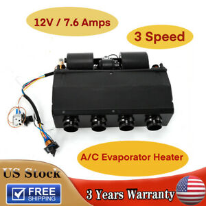 Universal Underdash Ac Air Conditioning Evaporator Heat Cool A c Kit Compressor