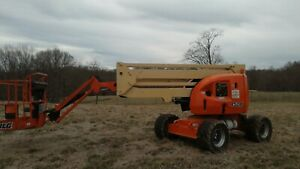 2007 Jlg 450aj Series Ii Articulating Boom Lift Man Lift