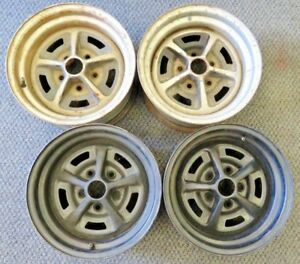 Original Ford Magnum 500 Wheels 1966 1970 Mustang Torino 14 X 7 5 Bolt