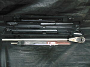 Snap on Tqr600e 3 4 Drive Adjustable Torque Wrench 200 600 Ft lb eb31