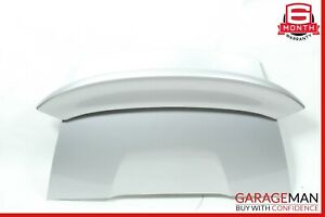 97 04 Porsche Boxster 986 Rear Trunk Lid Deck Shell Cover Panel Silver Oem