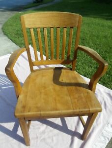 Antique Solid Walnut Chair By High Point Bending And Chair