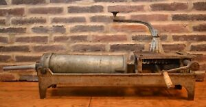 Antique John Wagner No 417 Sausage Stuffer Patent March 29 1859