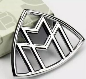 Mercedes benz Maybach Hood Emblem Rear Badge Standing C E S Class
