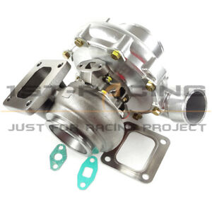 T4 Turbocharger Comp Ar 80 Turbine A r 81 T4 Flange Vband Oil Cold 900hp