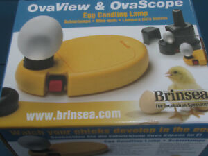 Nib Brinsea Ovaview Ovascope Egg Candling System Kit New