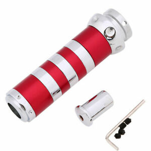 Universal Red Handbrake E Brake Handle Grip Cover Sleeve Stripe 27mm Outer Dia