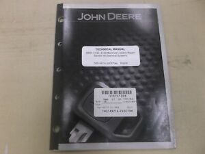 John Deere 300d 310d 315d Backhoe Loader Electrical Wiring Service Manual Tm1497
