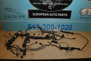 2008 Bmw E60 550i Engine Wiring Harness Complete Automatic Transmission