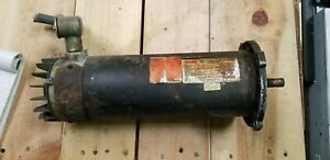 Dayton 4z378c 1hp Dc Permanent Magnet Motor 1725rpm Used Missing End Cover