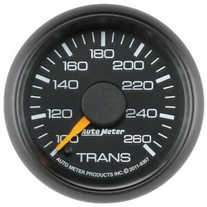 Autometer Factory Matched Trans Temp Gauge 100 260f For 2001 2007 Gm 8357