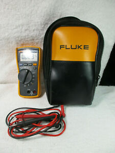 Fluke 116 Trms Multimeter Great Soft Case