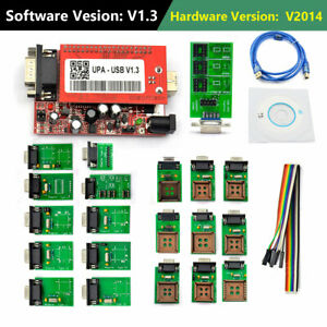 V1 3 Latest Version Upa Usb Programmer With Full Adaptors With Nec Function