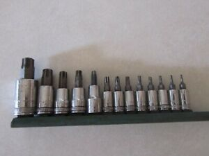 Gear Wrench 13pc Torx Socket Set