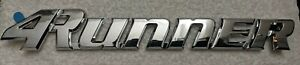 Toyota 4runner 1999 2000 2001 2002 Oem Tailgate Emblem Badge Sticker 3rd Gen