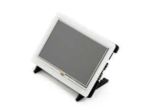 Ws 5inch Raspberry Pi Display Hdmi Lcd With Case 800x480 Resistive Touch Screen