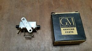 Nos Gm 1953 54 Chevy Bel Air 150 210 W Air Flow Heater Switch 3130005