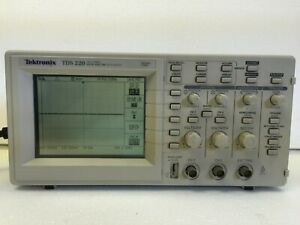 Tektronix Tds220 Digital Real Time Oscilloscope 30 Days Money Back