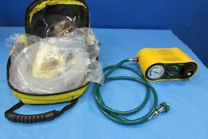 Emergent Port 02 Vent Ventilator With Bag And Accessories