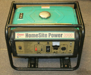 Onan Homesite Power 3500 Watt Gas Generator as Is Local Pickup Nj