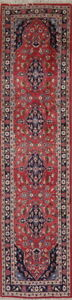 Narrow Floral 3x10 Persian Wool Traditional Oriental Runner Rug 10 5 X 2 7