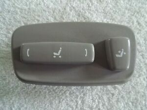 2001 2007 Toyota Sequoia Driver S Power Seat Adjustment Control Buttons Oem Gray
