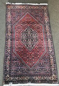 Hand Knotted Persian Wool Rug 6 X 3 Ft