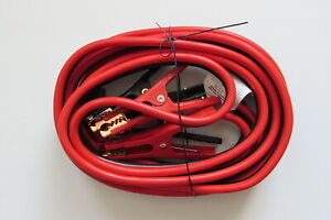Booster Cables 4 Awg Amps 400 A 20 ft 20 Foot Jumper Cables High Quality