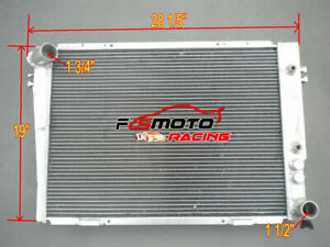 2 Core Custom Size Aluminum Radiator 19 X 28 Fit Chevy Ford Gmc At No Cap