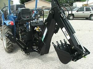 3 Point Backhoe 8600 9 foot Excavator With Free Pto Pump Shipping
