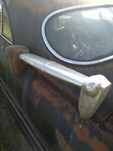 1949 Mercury Rear Bumper Guard Read Item Description Needs Rechromed