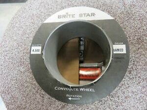 Brite Star Convolute Deburring Wheel 8 x2 x3 Med scotch Brite 3m Burr King