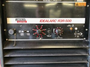 Lincoln Idealarc R3r 500 Weld Machine Good Condition Ready To Use Sale