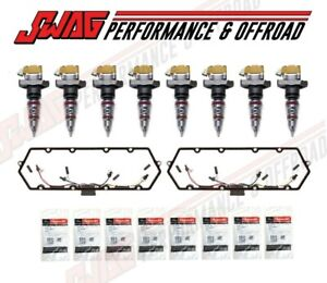 99 03 Ford Powerstroke 7 3l Injectors Valve Cover Gaskets Oem Glow Plugs