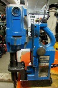 Used Working Hougen Hmd904 Portable Power Magnetic Drill