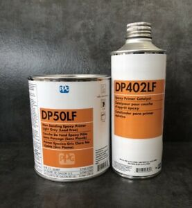 Ppg Dp50lf Gray Epoxy Primer Quart With Dp402lf Catalyst Pint