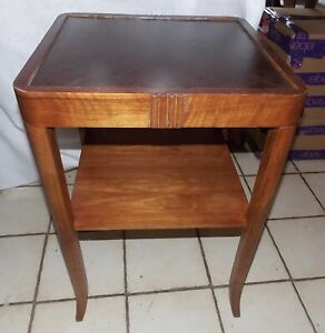 Mahogany Mid Century End Table Side Table T800