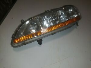 1998 2000 Honda Accord Drivers Side Headlight Headlamp Oem