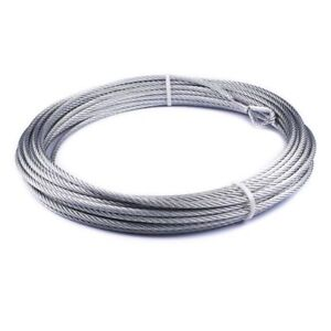 Warn Industries Winch Cable 3 8 X 94 For Vr10000 86515